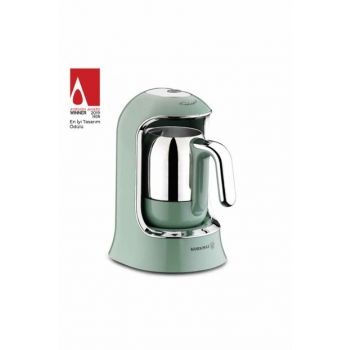 A860-04 Korkmaz Kahvekolik Turquoise Automatic Coffee Machine