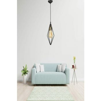 Paradise Single Pendant Lamp Black Yellow Patina Chandelier 601 0626 40 099