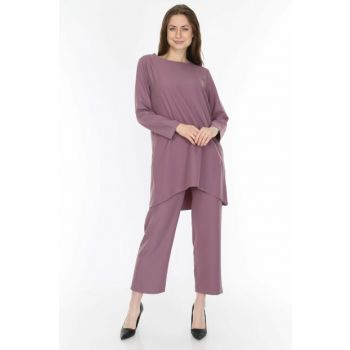 Women's Lilac Evaze Pants Suit 5247