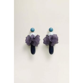 Women's Violet Mixed Resin Earring 53050718