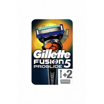 Fusion Proglide Flexball Shaver + 2 Replacement Headers 7702018390656