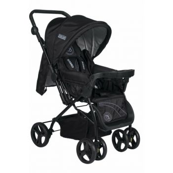 Tommybaby Nadia Luxury Double Direction Baby Stroller Pushchair Black / TM-615-2
