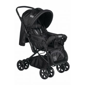 Tommybaby Nova Double Direction Luxury Baby Stroller Pushchair Black / TM-612-2