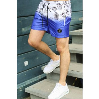 Men's Blue Sea Short - 2947
