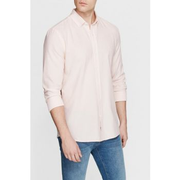 Men's Pink Shirt without Pockets 021004-28442
