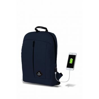 My Valice Smart Bag Galaxy Usb Charging Port Backpack Navy Blue / MV2792
