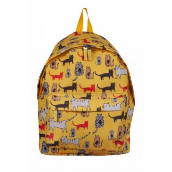 Cats Yellow Backpack BGD11114020199