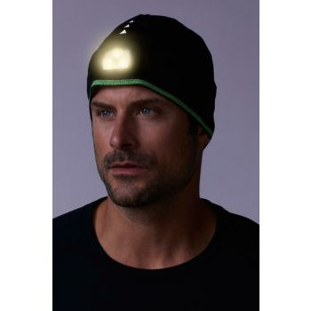 Sports Beret with LED Black 92007