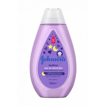 Johnsons Baby Bedtime Hair And Body Shampoo 500ml 44920