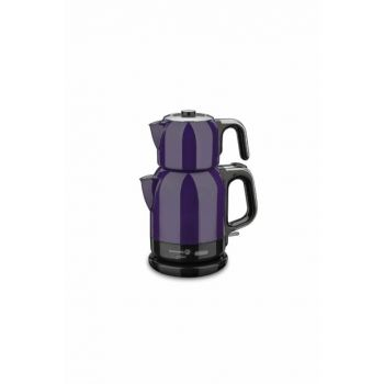 A331-01 Korkmaz Caytema Lavender / Chrome Electric Tea Pot