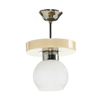 Mimosa Cream Oval Single Chandelier -MMZ-1CRM SNM3996-5595