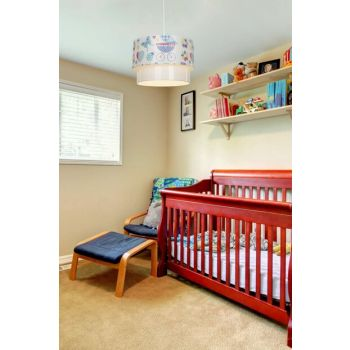 Deco Pendant Lamp - Blue Baby Baby / Kids Room Lighting ASZ.0970