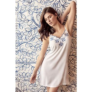 Women's White Nightgown MAN5500