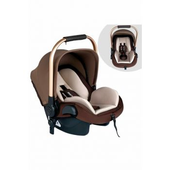 Baby Home Bh-500 Comfort Maternity Baby Car Seat Carrying Stroller Coffee / 007.015.291