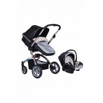 Pierre Cardin Pc405 Twist Travel System Baby Carriage - Black 8680807211759