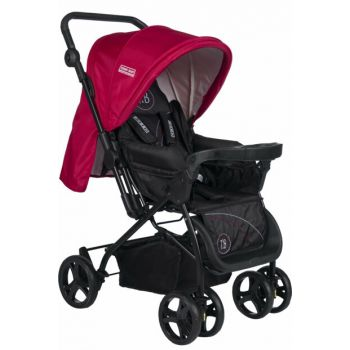 Tommybaby Nadia Luxury Double Direction Baby Stroller Pushchair Red / TM-615-3