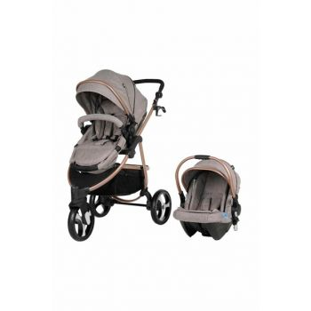 9015 Camenta Travel System Baby Carriage Beige / 1007771