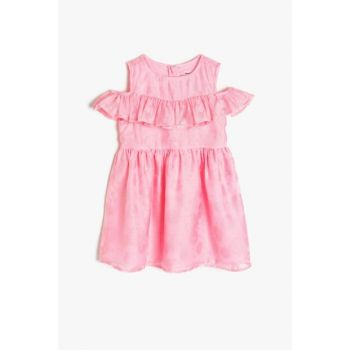 Pink Girls' Dress 9YKG87227OW