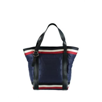Unisex Navy Blue Shoulder Bag 30138-0053048