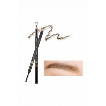 Long Lasting Eyebrow Pencil - Smudge Proof Wood Brow Brown 3.5-90mm 8806185772594
