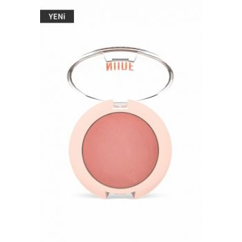 Terracotta Blusher - Nude Look Face Baked Blusher Peachy Nude 8691190967208 P-TBN