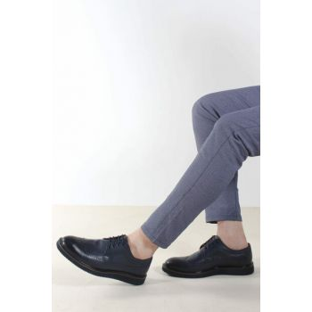 Navy Blue Men Classic Shoes 1848962 Click to enlarge