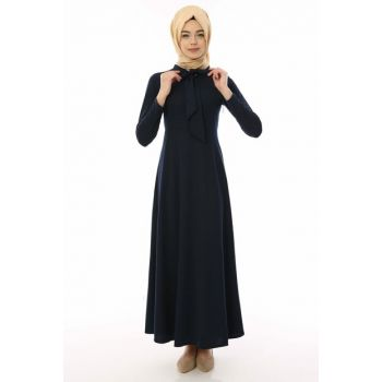 Women's Navy Blue Dress 01918YBELB01026