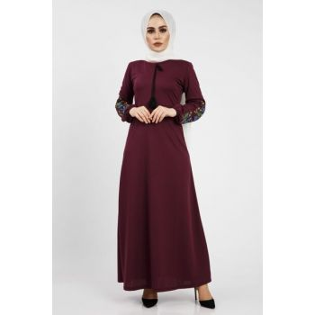 Women's Purple Dress 01918YBELB06008