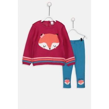 Baby Girl Sweater Pullover And Tights 2Pcs 9W3147Z1