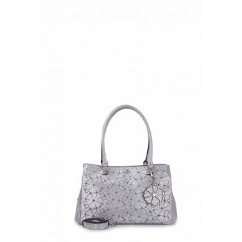 Silver Shoulder Bag Hwme6961090 Sil HWME6961090 SIL
