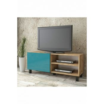 Aqua Tv Unit High Gloss Cover 120cm 1 Cover Turquoise AU1-A1B-T 1286076