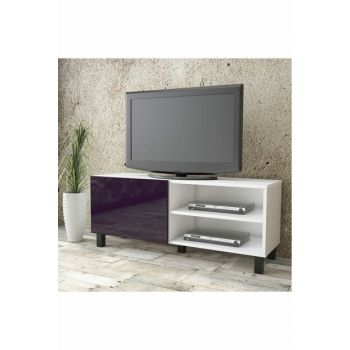 Aqua Tv Unit High Gloss Cover 120cm