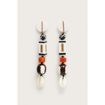 Women's White Beaded Earring 53050850