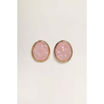 Women's Peach Geometric Earrings 53030713