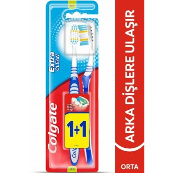 Extra Clean Toothbrush Medium 1 + 1 8714789732244