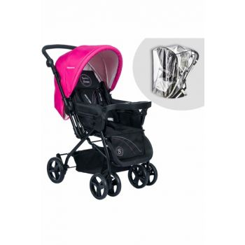 Baby Home Bh-111 Two Way Trolley with Tray Pink / 007.009.005