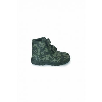Khaki - Camouflage Unisex Children's Boots & Booties 1370.F.033