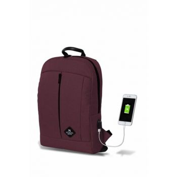 My Valice Smart Bag Galaxy Usb Charging Port Backpack Bordeaux / MV2808