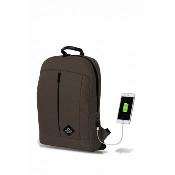 My Valice Smart Bag Galaxy Usb Charging Port Backpack Brown / MV2785