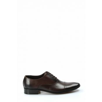 Genuine Leather Brown Men Classic Shoes 1849844