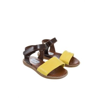 Yellow Baby Girl Sandals SBAKCSDLT1132_00-0038