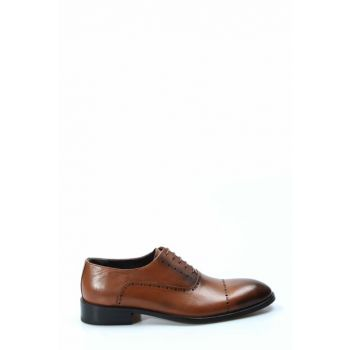 Genuine Leather Taba Men's Classic Shoes 1849939