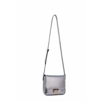Women Silver Shoulder Bag Y3B080 YGF4A 80233