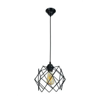 Small Single Black Prm Chandelier 601 0152 13 099