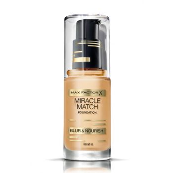 Moisturizing Foundation - Miracle Match Foundation 55 Beige 30 ml 4084500539648
