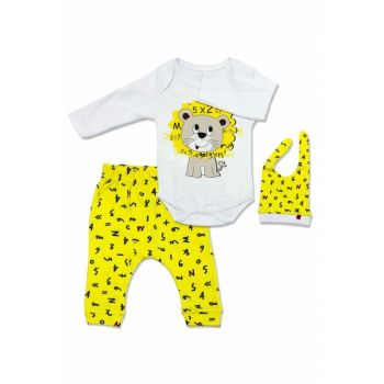 Yellow Lion 3 Lu Baby Suit K2645