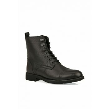 Genuine Leather Black Men Boots 9319 7019 1_000