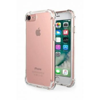 Rich Shop Apple iPhone 6 / 6s Plus Ultra Thin Transparent Airbag Anti Shock Silicone Case - Transparent