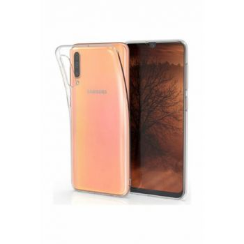 Galaxy A50 Dust Protection Stopper Ultra Thin Transparent Silicone Case A50-SY-145