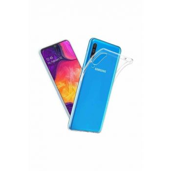 Galaxy A70 Dust Protection Stopper Ultra Thin Transparent Silicone Case A70-SY-145